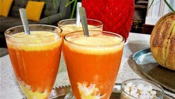 آب هویج بستنی ایران غذالند سرزمین غذا