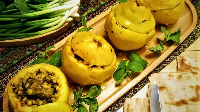 دلمه به ایران غذالند سرزمین غذا