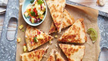 کیسادیا مرغ - غذای مکزیکی - غذالند