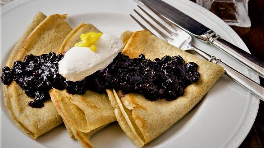 کرپ صبحانه فرانسه سرزمین غذا غذالند