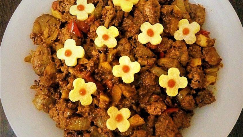 خوراک جگر مرغ ایران غذالند سرزمین غذا