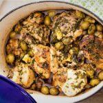 خورش مرغ و زیتون لبنان غذالند سرزمین غذا