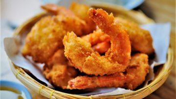 میگو سوخاری فرانسوی غذالند سرزمین غذا