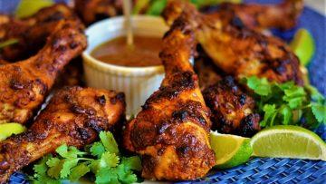 مرغ تَندوری هندوستان غذالند سرزمین غذا