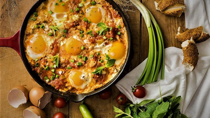 املت فلفل سبز و سیب زمینی ایران غذالند سرزمین غذا