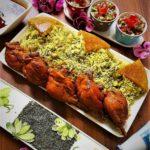 سبزی پلو با ماهیچه ایران غذالند سرزمین غذا