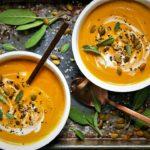سوپ کدو حلوایی آلمان غذالند سرزمین غذا