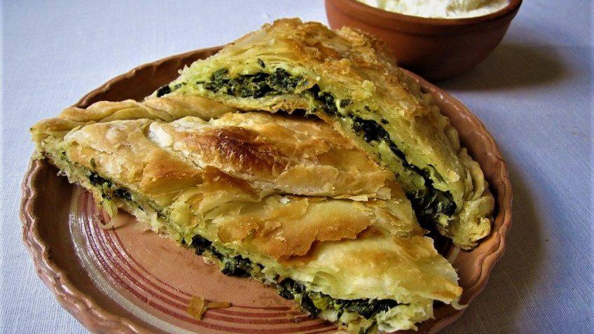 بورک سبزیجات ترکیه غذالند سرزمین غذا