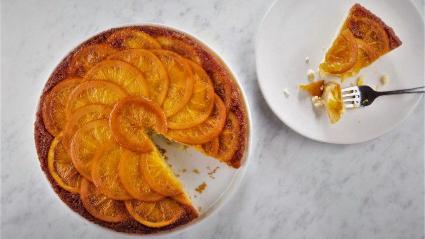 کیک پرتقال اروپا سرزمین غذا غذالند