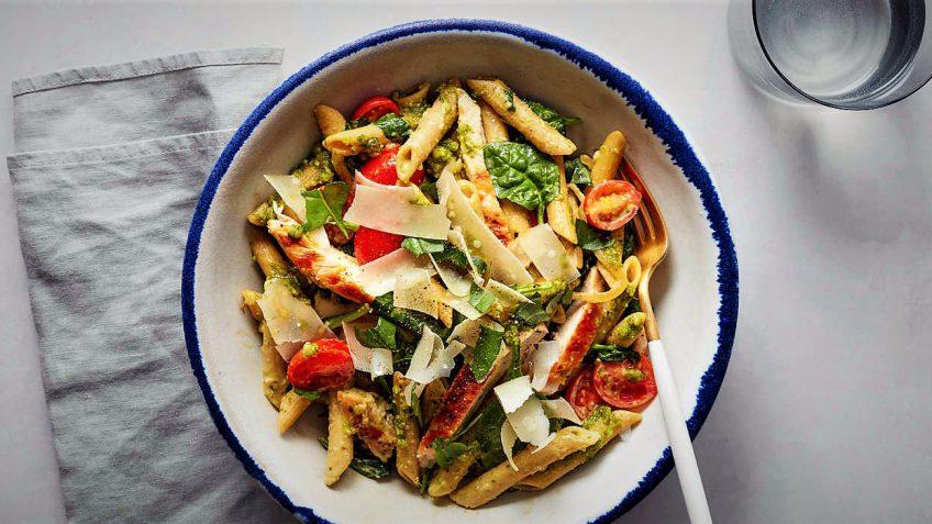 گریل چیکن پنه ایتالیا غذالند سرزمین غذا