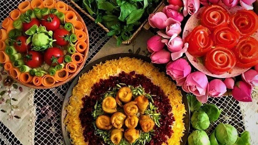 جوجه کباب حلزونی ایران غذالند سرزمین غذا