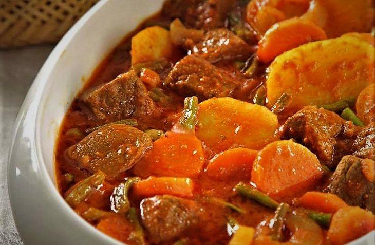 خوراک لوبیا سبز ترکیه سرزمین غذا غذالند