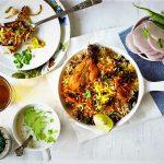 مرغ بریانی کویتی کویت غذالند سرزمین غذا