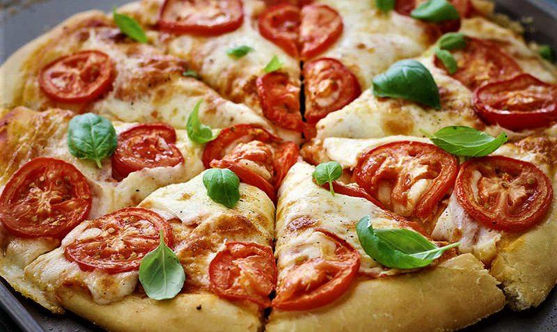 پیتزا مارگاریتا ایتالیا غذالند سرزمین غذا