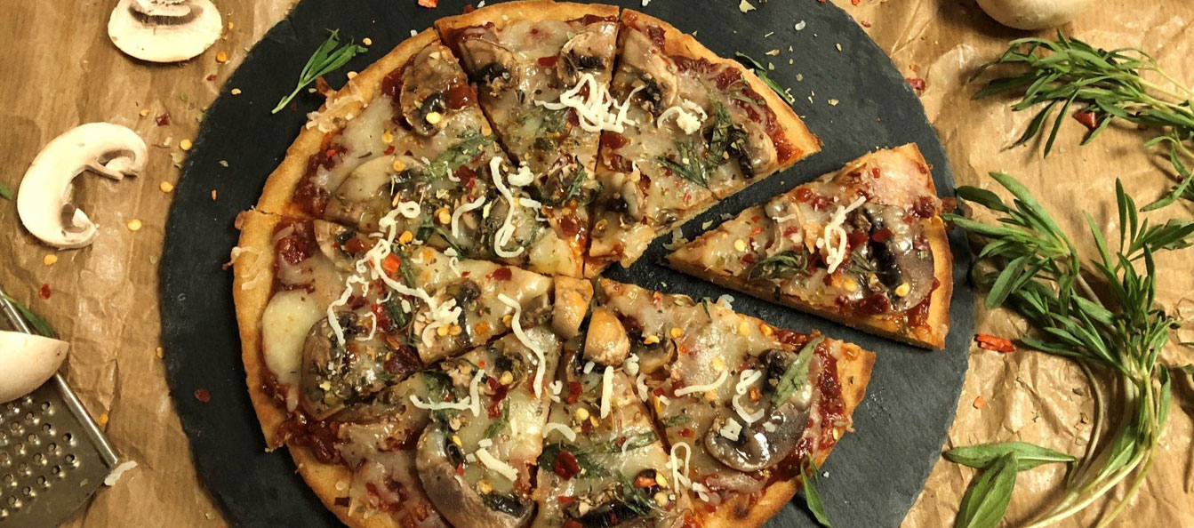 پیتزا قارچ - غذالند