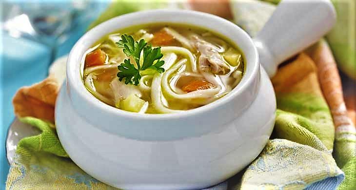 سوپ گیاهی ایران غذالند سرزمین غذا