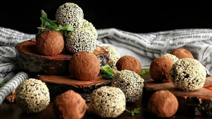 توپک خرما و سویق ایران غذالند سرزمین غذا