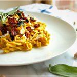 فسیلی کربونارا ایتالیا غذالند سرزمین غذا