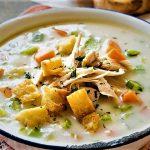 سوپ کرم مرغ آسیای شرقی غذالند سرزمین غذا