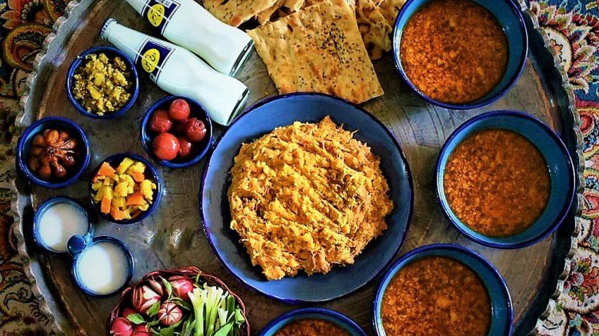 آبگوشت بادمجان ایران غذالند سرزمین غذا