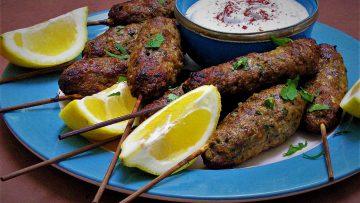 کباب لبنانی لبنان غذالند سرزمین غذا