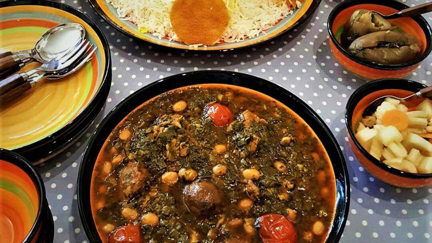 خورش تره کردستان غذالند سرزمین غذا