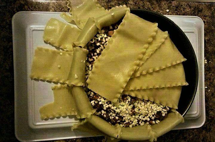 لازانیا قالبی ایران غذالند سرزمین غذا