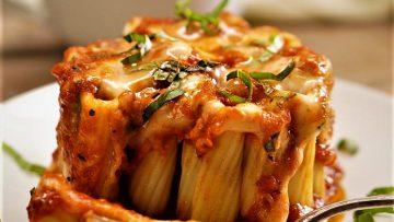 لازانیا زیتی ایتالیا غذالند سرزمین غذا