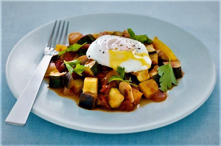 راتاتویی و تخم مرغ فرانسه غذالند سرزمین غذا