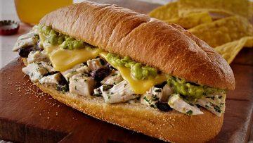 ساندویچ مرغ مکزیکی غذالند سرزمین غذا