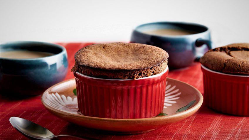 سوفله شکلات فرانسه غذالند سرزمین غذا
