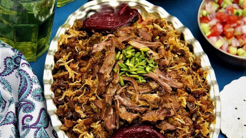 ته چین ماهیچه ایران غذالند سرزمین غذا