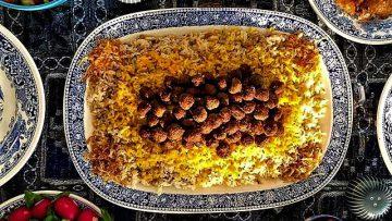 زیره پلو کرمان غذالند سرزمین غذا