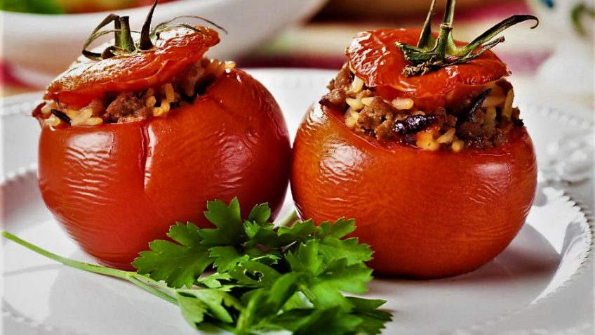 دلمه گوجه فرنگی ایران غذالند سرزمین غذا
