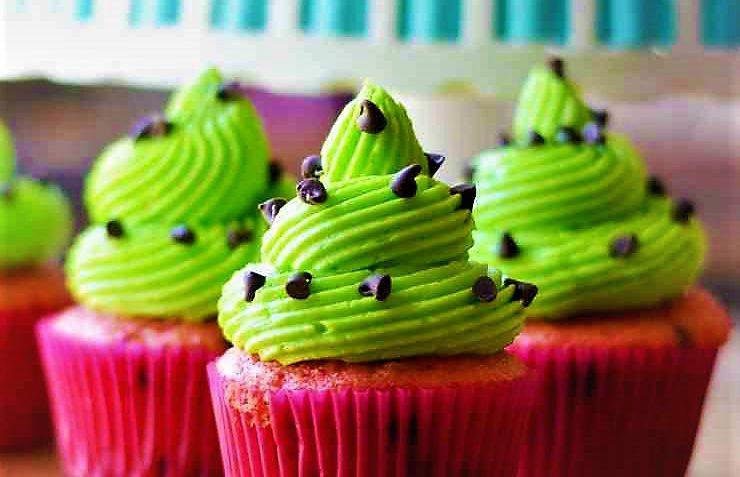 کاپ کیک هندوانه امریکا غذالند سرزمین غذا