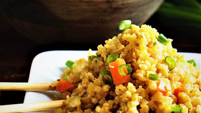 گل کلم پلو آسیا شرقی غذالند سرزمین غذا