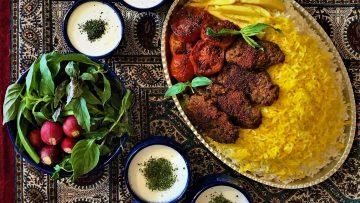 کباب تابه ای در فر ایران غذالند سرزمین غذا