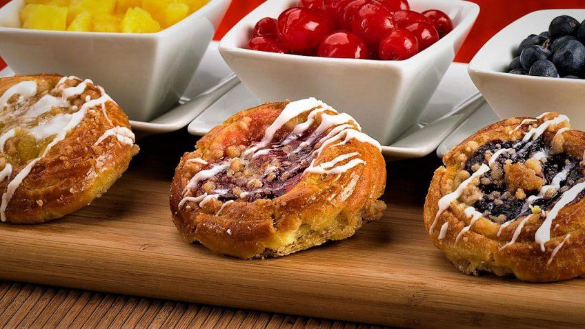 شیرینی دانمارکی غذالند