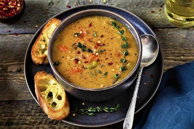 سوپ نخود غذالند سرزمین غذا