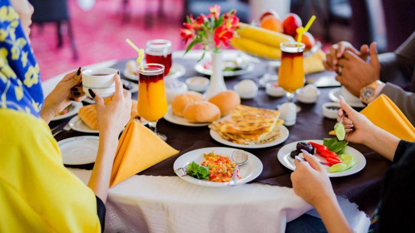 توصیه های تغذیه ای برای نوروز و سفر های نوروزی