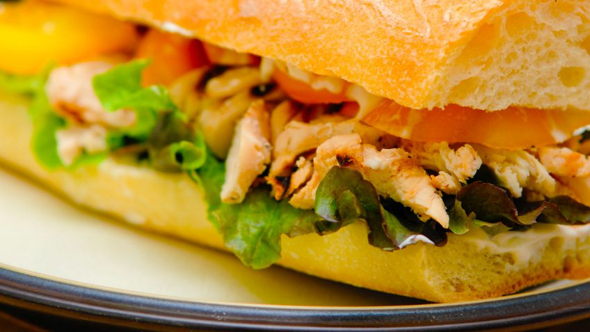 ساندویچ مرغ - غذالند