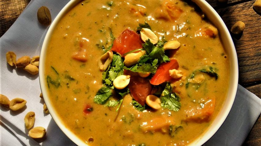 سوپ بادام زمینی مراکش بولیوی غذالند سرزمین غذا