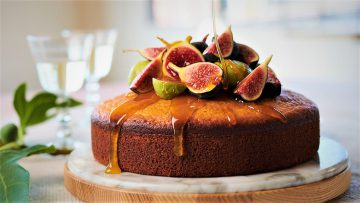 کیک انجیر ایران غذالند سرزمین غذا