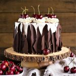 کیک بلک فارست آلمان غذالند سرزمین غذا
