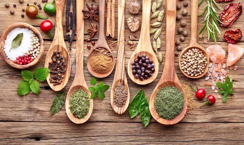 انواع ادویه ها برای غذاهای مختلف(۲)