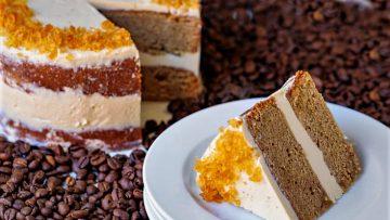 کیک قهوه غذالند سرزمین غذا